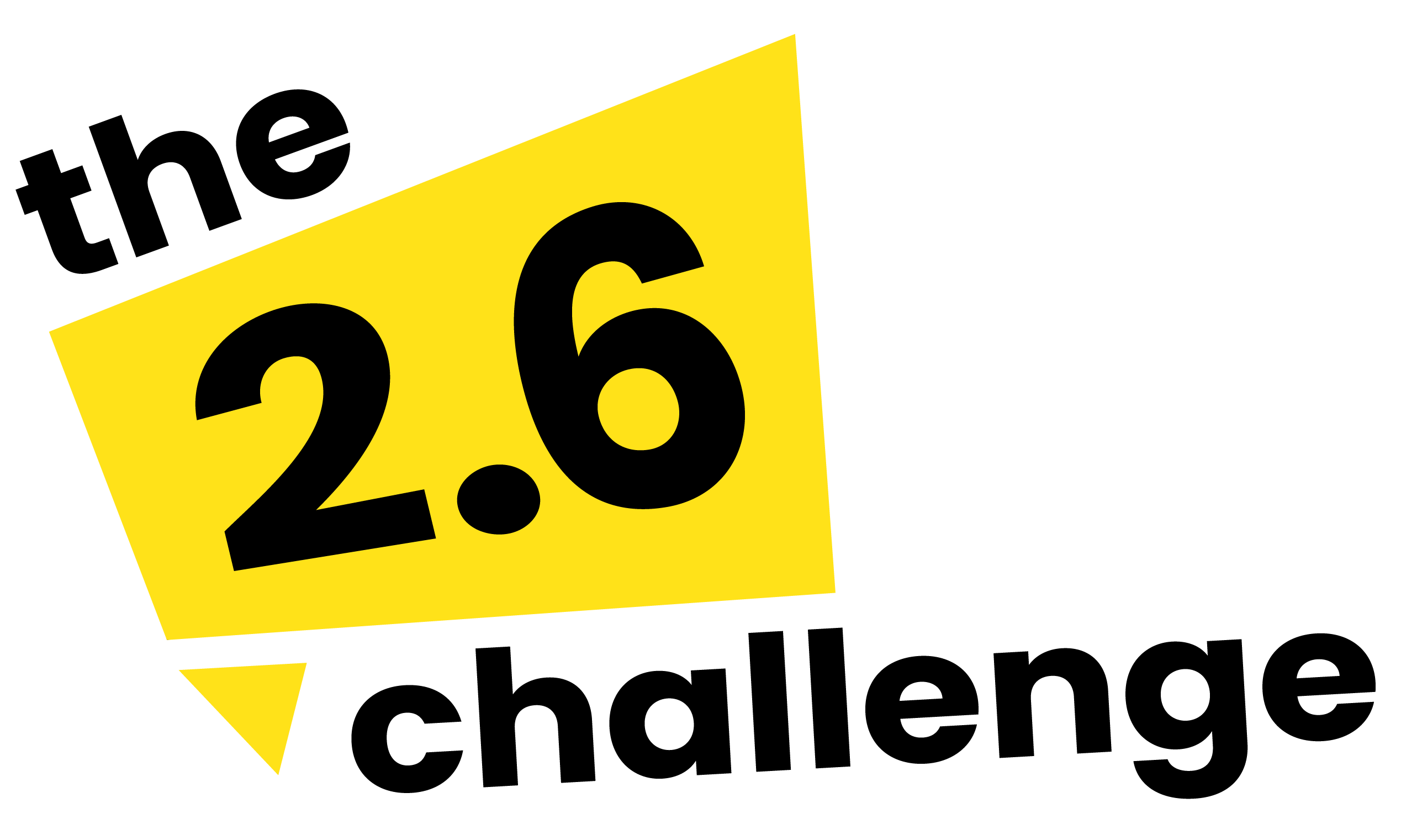 We're taking part in the 2.6 challenge!