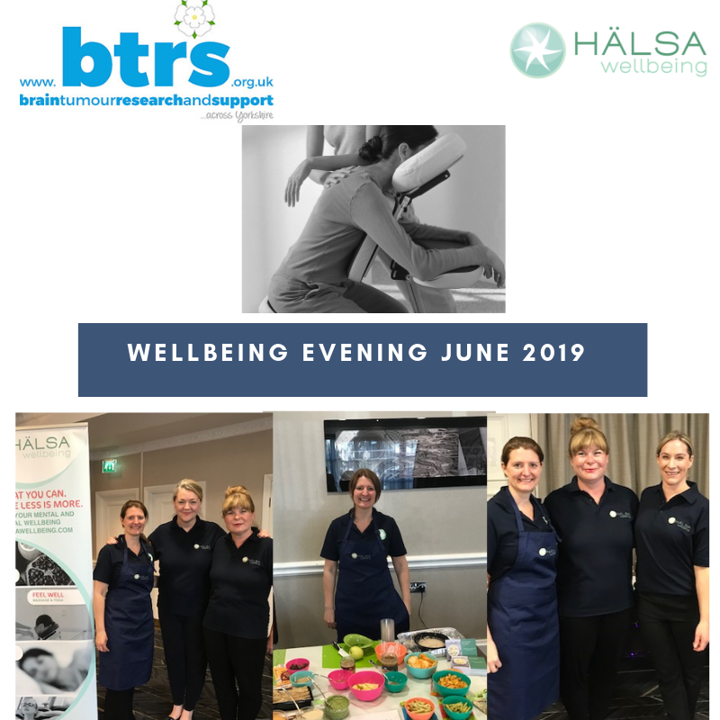 Halsa wellbeing at the BTRS monthly support group